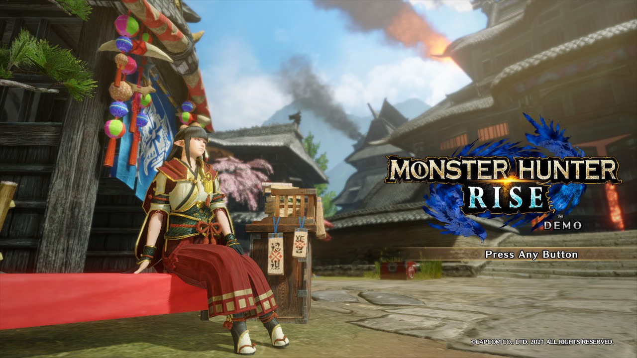 รีวิว Monster Hunter Rise Demo